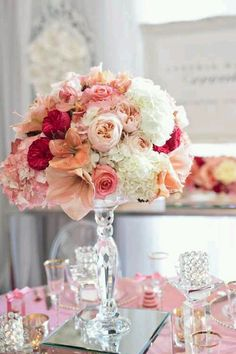 DIY Flower Centrepiece – DIY Wedding