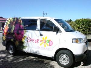 spearwood florist delivery van